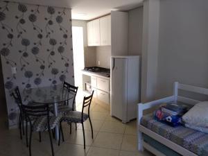 Una cocina o zona de cocina en Apartamento 2 Quartos VG