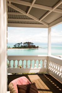A balcony or terrace at Villa LuLu