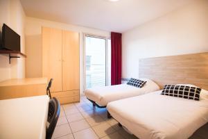 Un ou plusieurs lits dans un hébergement de l'établissement City Résidence Avignon (5 Epi)