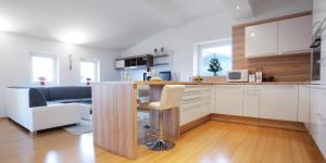 A kitchen or kitchenette at The Loft