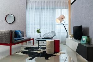 Posedenie v ubytovaní Arte Plus by Afflexia Serviced Suites KLCC