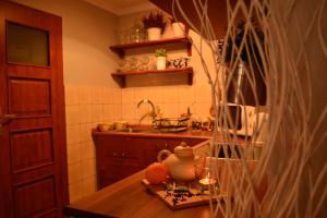 Kuchnia lub aneks kuchenny w obiekcie Apartamenty no3