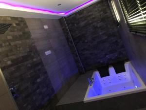 A bathroom at Las 7 Esencias