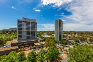 A bird's-eye view of Accommodate Canberra - New Acton