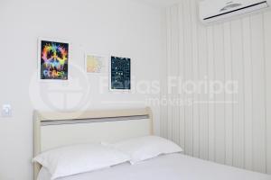 Cama o camas de una habitación en Casa Ilha Paraíso - Campeche - 3 quartos Com Piscina