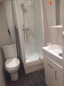 Kúpeľňa v ubytovaní Studio 1 avenue Bellanda