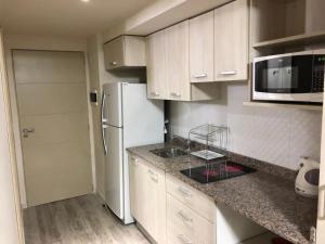 Una cocina o kitchenette en Tangoinn Aparts