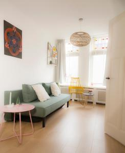 A seating area at My home in Delft