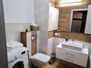 Kúpeľňa v ubytovaní Apartamenty Bulwary Książęce