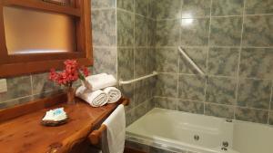 Un baño de Costa Brava Apart Hotel