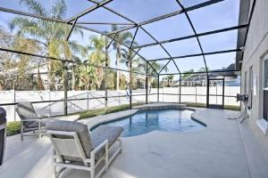 The swimming pool at or close to Mickey's Landing - Luxury 5 Star Family 4 Bedroom with Pool, Hot Tub, Games Room & BBQ,5 Mins Disney