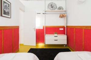 A bed or beds in a room at Santa Caterina