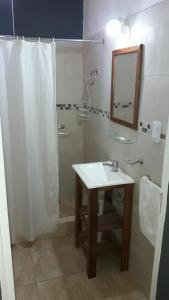 Un baño de Lo de Marito