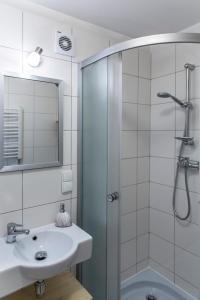 Łazienka w obiekcie Apartament Antałówka z ogródkiem