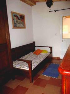 Uma cama ou camas num quarto em Vivenda Bea