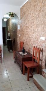 A seating area at Casa Rural Marta