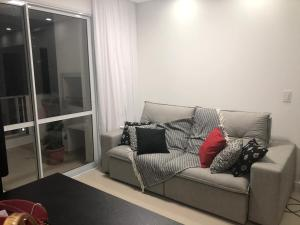 Zona de estar de Apartamento Super Aconchegante