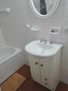 Un baño de Departamento Recoleta