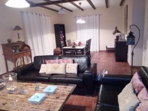 Zona de estar de Casa Rural Leonor