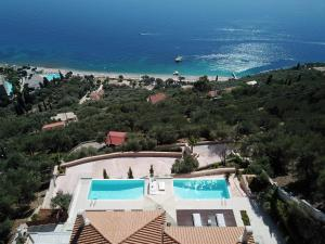 A view of the pool at My Villa Corfu or nearby