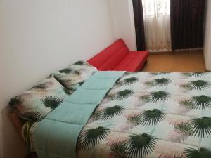 Cama o camas de una habitación en Av. Infancia 429 Apartamento