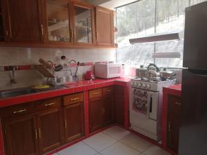 Una cocina o zona de cocina en Imasmari apart
