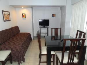 Un lugar para sentarse en Gala Apart & Suites