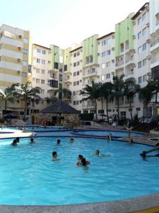 The swimming pool at or near Flat em Thermas Paradise