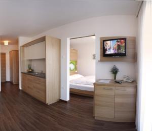Postel nebo postele na pokoji v ubytování Residence Aqualis
