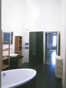 Salle de bains dans l'établissement Haussmann