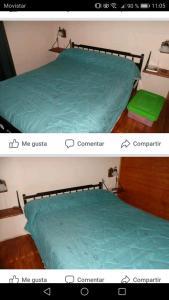 Una cama o camas cuchetas en una habitación  de Menta limon