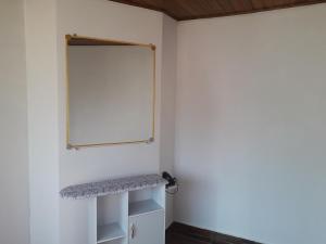 A bathroom at Apartamento Espaço Cajueiro