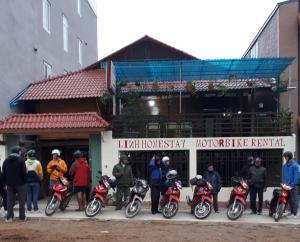 Linh Homestay motorbikes