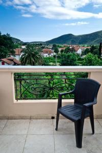 A balcony or terrace at Apartments Bjelanović