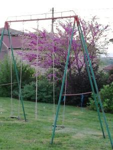 Domaine du Barvy tesisinde çocuk oyun alanı