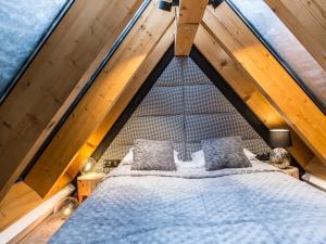 Postel nebo postele na pokoji v ubytování Mont Blanc Deluxe