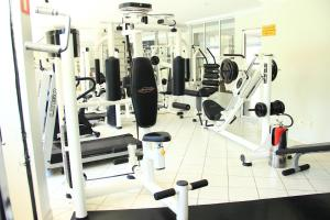 The fitness center and/or fitness facilities at Residencial Thermas Paradise