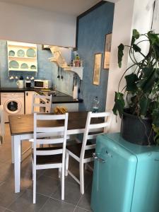 Küche/Küchenzeile in der Unterkunft Stil und Komfort! Deluxe Apartment!