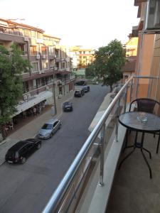 A balcony or terrace at Sunny Apartment