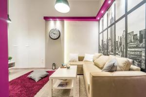 Area soggiorno di Cozy Downtown Studio Apartment