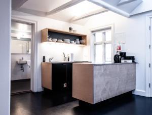 Eldhús eða eldhúskrókur á Luna Apartments - Laugavegur 37