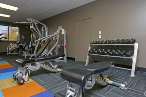 The fitness center and/or fitness facilities at Enclave Luxury Apartments 2 - #121