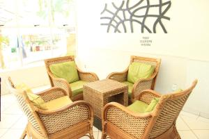 A seating area at Residencial Thermas Paradise