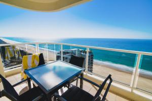 A balcony or terrace at Xanadu Resort