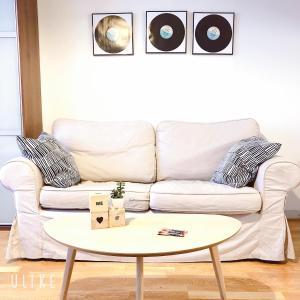 O zonă de relaxare la Uman City Studio-Flemingsgatan
