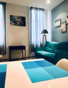 A bed or beds in a room at Appartement Marseille, Centre&Vieux-port