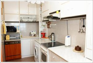 A cozinha ou cozinha compacta de Villa Doris