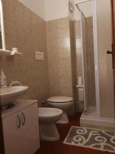 A bathroom at Carinissimo appartamento a 2km dalle piste