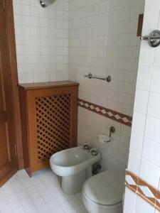 A bathroom at Viale Bianca Maria Elegante Bilocale