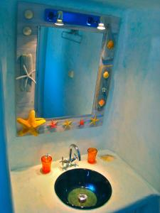 A bathroom at Ethereal Apartments
